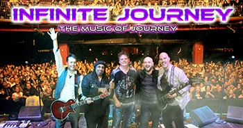 Band Photo with logo for Infinite Journey - The Music of Journey