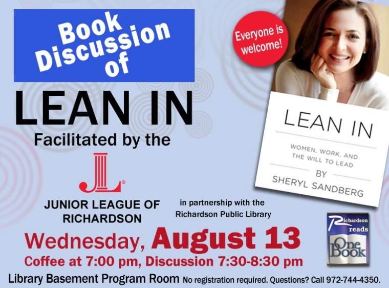lean in junior league book review program