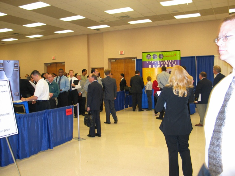 Grand Hall Business Trade Show