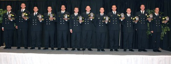 Fire Training Class Graduates