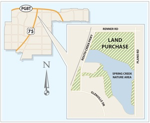 Spring Creek Nature Area Land Purchase