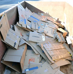 Holiday Box Recycling