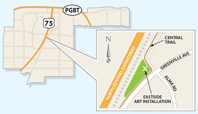 Eastside Art Map