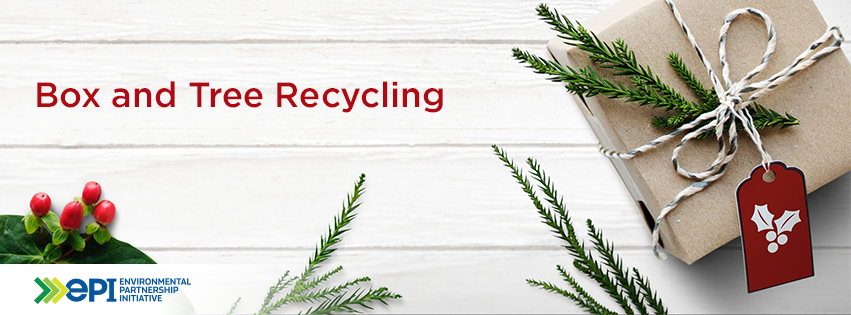 Box and Tree Recycling Header