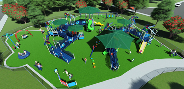 Inclusive-Playground-Rendering
