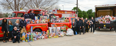 Fire-Department-Toy-Drive-Delivery