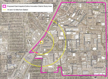 Arapaho-Collins-Innovation-District-Study-Area