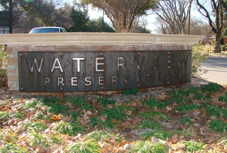 Waterview Preservation Entry