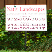 Contractor Sign