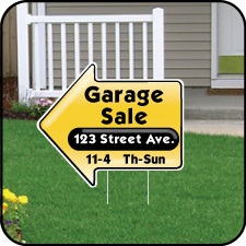 Garage Sale Arrow