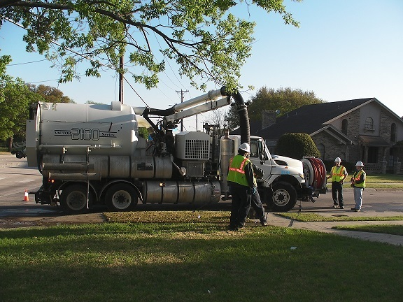 Water Operations Vactor
