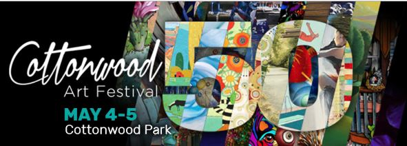 Cottonwood Art Festival Logo 2019